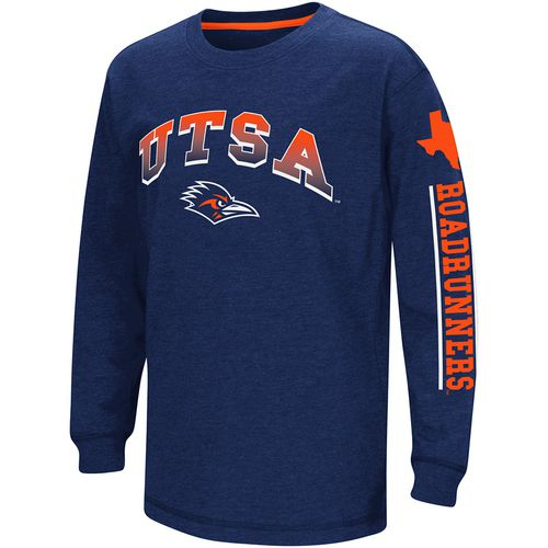 Colosseum Athletics Boys' University of Texas at San Antonio Grandstand Long Sleeve T-shirt