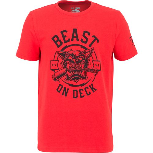 Under Armour Boys' Beast on Deck Short Sleeve T-shirt - view number 1