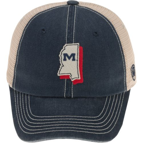 Top of the World Men's University of Mississippi United 2-Tone Adjustable Cap