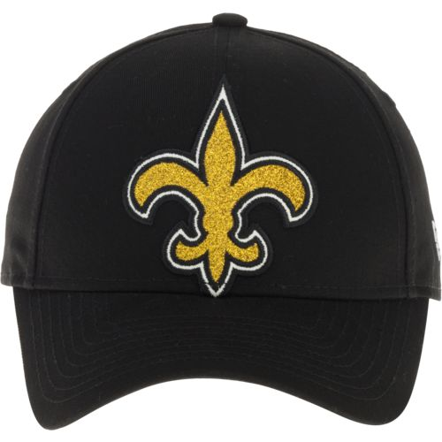 New Era Women's New Orleans Saints Glitter Glam 9FORTY Cap - view number 1