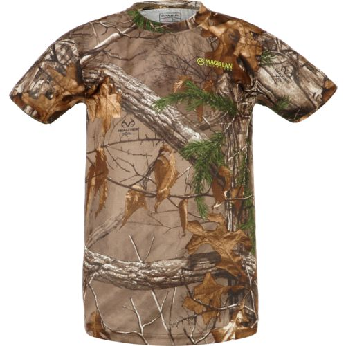 Magellan Outdoors Kids' Eagle Pass Short Sleeve Mesh Shirt