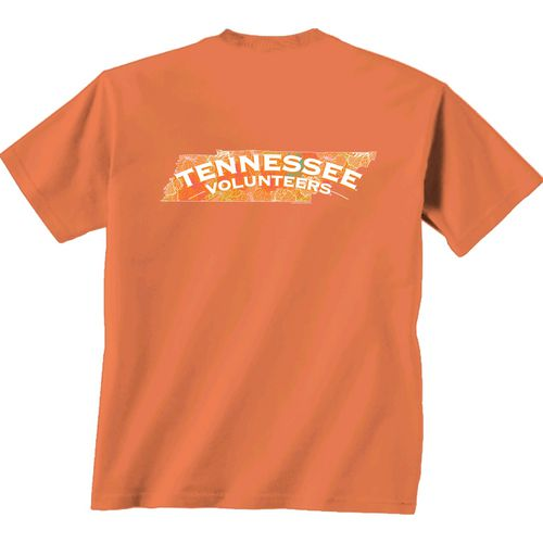 New World Graphics Women's University of Tennessee Comfort Color Puff Arch T-shirt