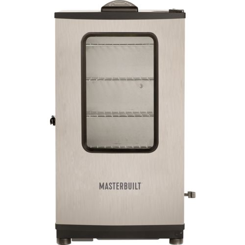 Display product reviews for Masterbuilt MES 140S 40 in Digital Stainless-Steel Electric Smoker with Window