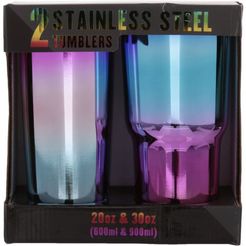 Wellness Stainless Steel Insulated Tumblers 2-Pack