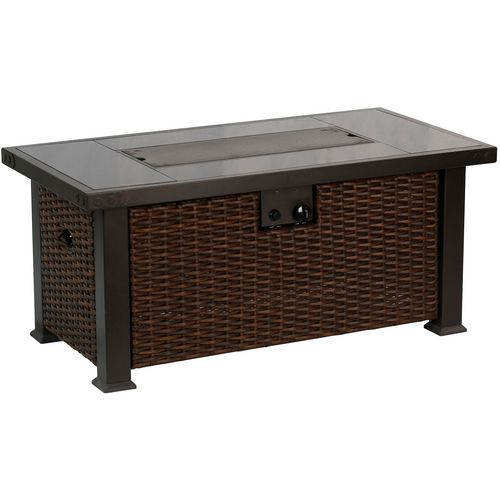 ... Bali Outdoors 52 In Rectangular Gas Fire Pit Table   View Number 2 ...