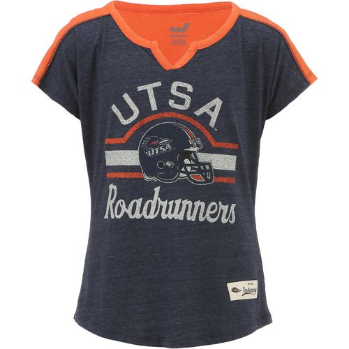 Gen2 Girls' University of Texas at San Antonio Tribute Football T-shirt