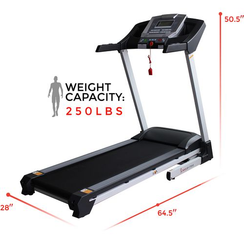 Sunny Health & Fitness Smart Treadmill with Auto Incline - view number 9