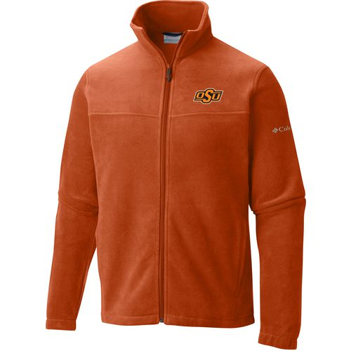 Columbia Sportswear Men's Oklahoma State University Flanker Full Zip Fleece