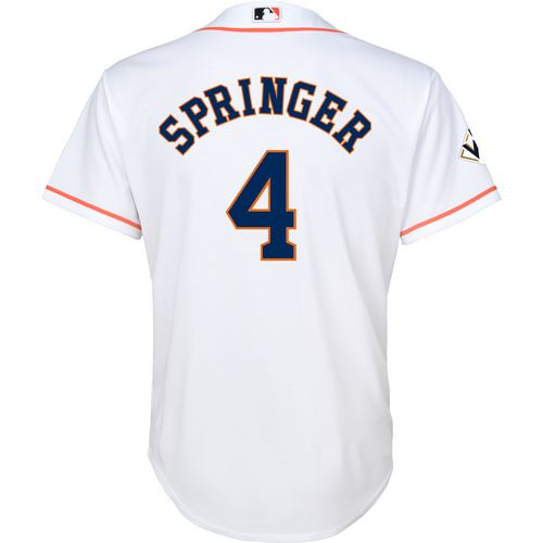 Majestic Kids Astros Springer Jersey with World Series Patch