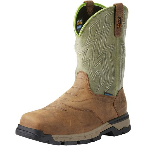 Display product reviews for Ariat Men's Rebar Flex H2O Western Work Boots