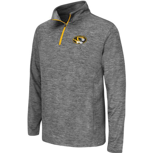 Colosseum Athletics Youth University of Missouri Action Pass 1/4 Zip Wind Shirt