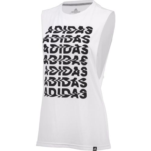 adidas Women's Wavy Training Tank Top - view number 1