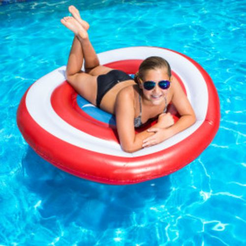 SwimWays Marvel Oversize Inflatable Shield Pool Float - view number 3