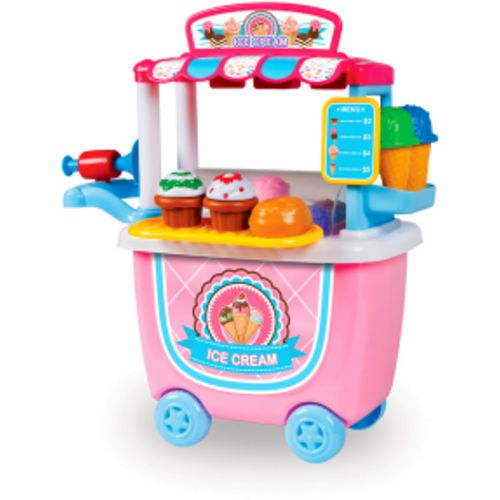 World Tech Toys 14-Piece Ice Cream Cart Playset - view number 1