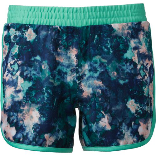 BCG Girls' Printed Moisture Wicking Running Short