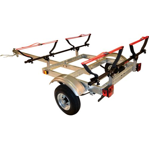 Malone Auto Racks XtraLight 2-Kayak Trailer Package Kit
