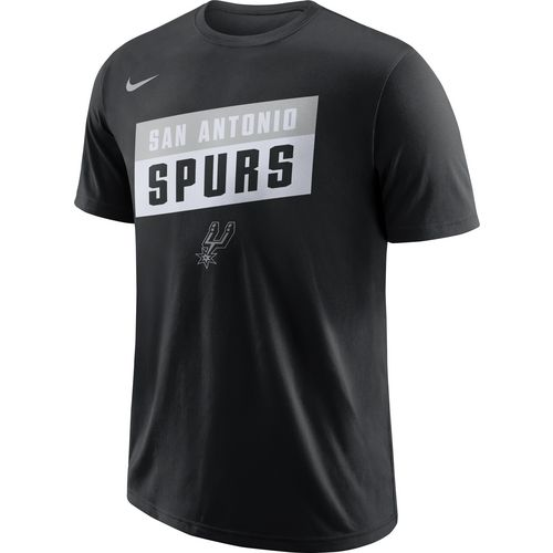 Nike Men's San Antonio Spurs Dry ES Stack T-shirt