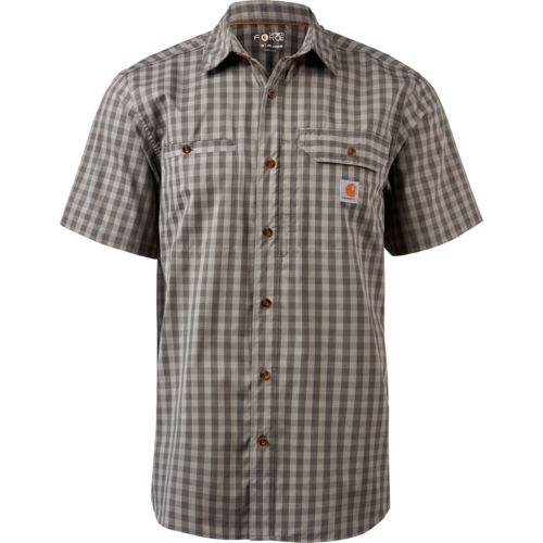 Carhartt Men's Force Ridgefield Button-Down Shirt