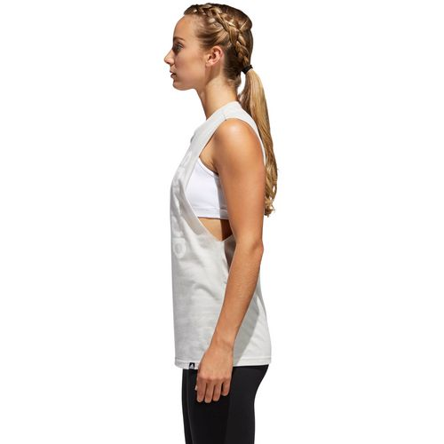 adidas Women's Bos Muscle Hack Training Tank Top - view number 4