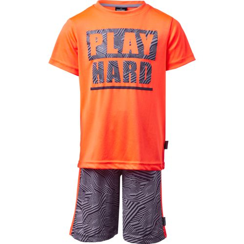 Spalding Boys' Play Hard T-shirt and Shorts Set