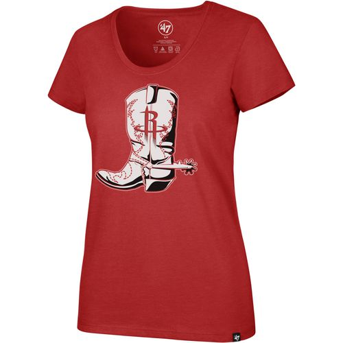 '47 Houston Rockets Women's Cowgirl Boot Regional Club T-shirt