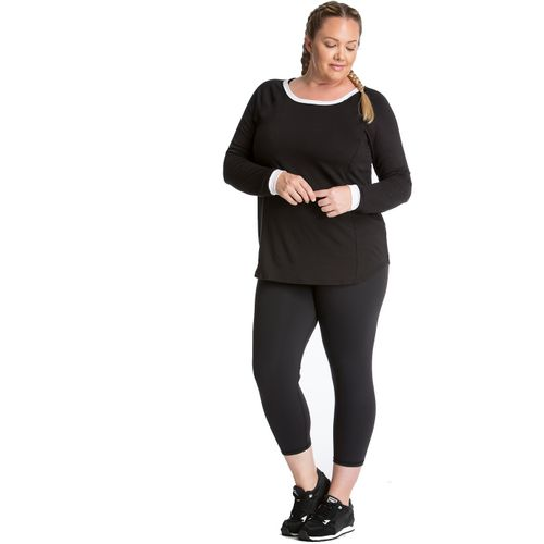 Lola Getts Plus Size Long Sleeve Raglan Top