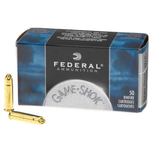 Display product reviews for Federal® Game-Shok™ No. 12 Lead Bird Shot .22 LR 25-Grain Rimfire Ammunition