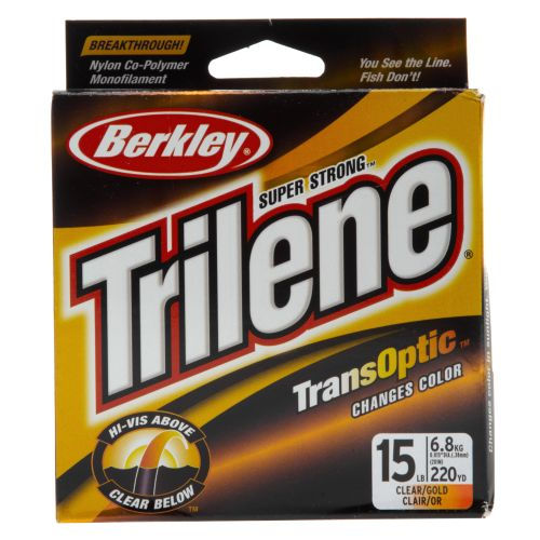 Berkley® Trilene® TransOptic™ 220-Yard Monofilament Fishing Line