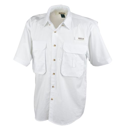 Men 39 s magellan sportswear lake fork fishing shirt white for Magellan fishing shirts