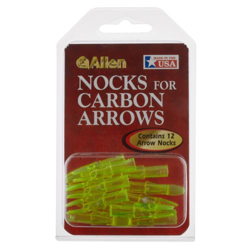 Allen Company Carbon Arrow Nocks 12-Pack