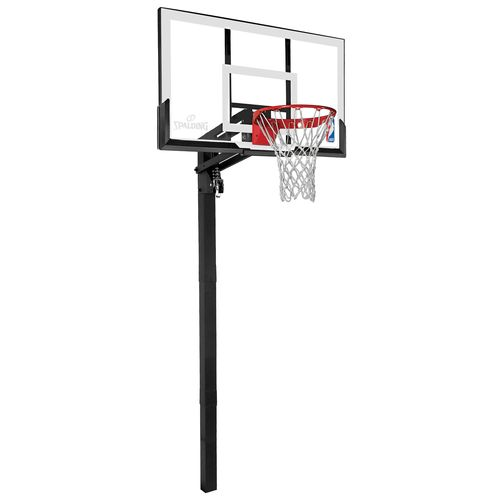 "Spalding 54"" Acrylic In Ground Basketball Hoop"