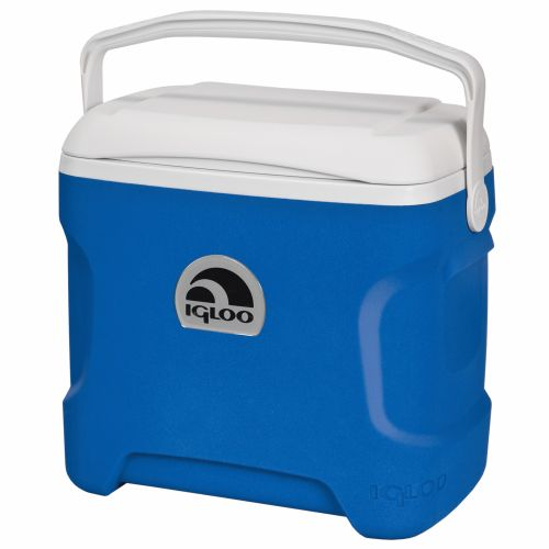 Image for Igloo Contour™ 30-qt. Ocean Blue Cooler from Academy