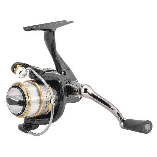 Image for Lew's® Wally Marshall™ Signature Series Tuxedo Black Crappie Spinning Reel from Academy