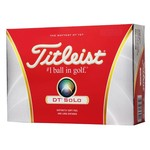 Titleist DT Solo Golf Balls 12-Pack