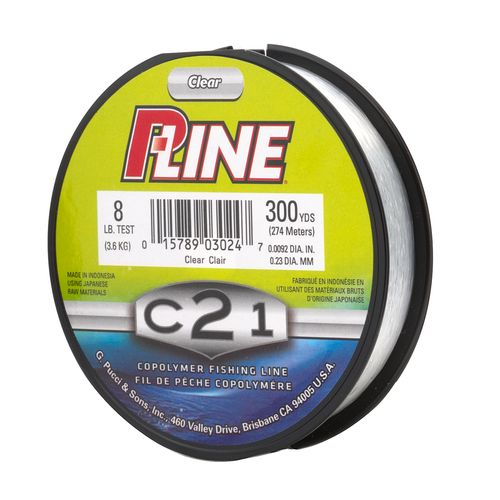 P-Line C21 8 lb. - 300 yards Copolymer Fishing Line