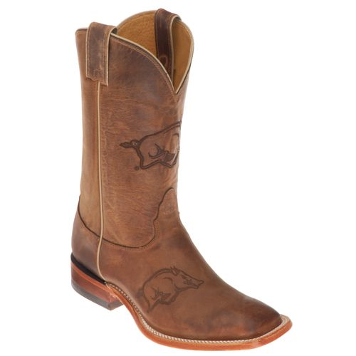Men's Arkansas Razorbacks Western Boot