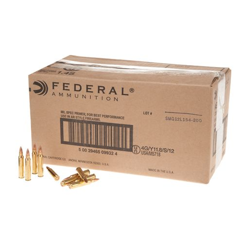 Display product reviews for Federal Premium® American Eagle .223 Remington 55-Grain Centerfire Ammunition