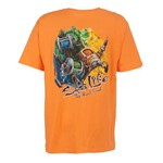 Salt Life Men's Painted Reels Short Sleeve T-shirt
