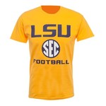 Bayou Apparel Adults' Louisiana State University SEC Football T-shirt