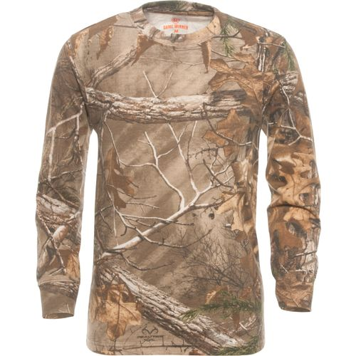 Choose outdoors apparel that represents your passion for the wilderness and the hunting lifestyle. Polos, graphic T-shirts and button-up tactical shirts can double as street clothes. Seek out details in your hunting gear that helps you stand up to the elements.