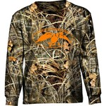 Duck Commander Boys' Realtree Max-4® Long Sleeve Logo T-shirt