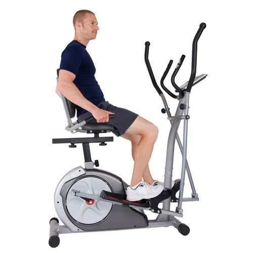 Body Rider 3-in-1 Elliptical/Recumbent  Upright Bike trio trainer