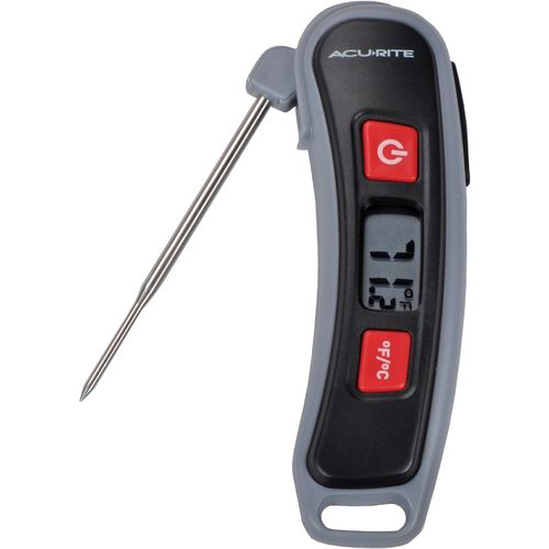 AcuRite Digital Instant-Read Thermometer with Folding Probe