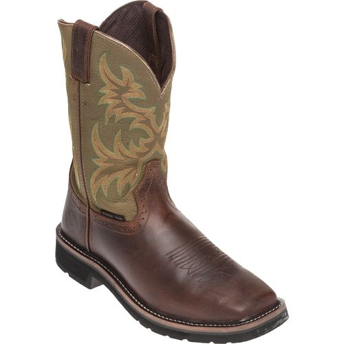 Justin Men's Waxy Cowhide Western Work Boots - view number 2