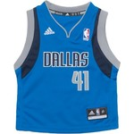 adidas Toddler Boys' Dallas Mavericks Dirk Nowitzki #41 Revolution 30 Replica Road Jersey