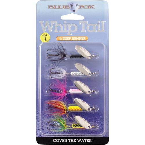 Blue Fox Whip Tail In-Line Spinnerbaits 5-Pack