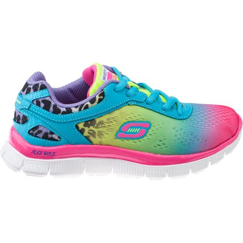 SKECHERS Girls  Skech Appeal Serengeti Athletic Lifestyle Shoes