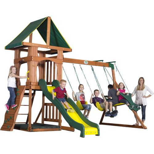 Backyard Discovery™ Santa Fe Wooden Play Set