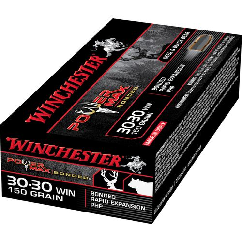 Winchester Super-X Power Max Bonded .30-30 Winchester 150-Grain Centerfire Rifle Ammunition