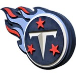 Foamheads Tennessee Titans Fan Foam 3-D Logo Sign
